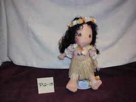 """precious moments hawaiian Lulu Doll 14"""" - $14.99"""