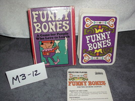 Parker Brothers Funny Bones Card Game - $10.99