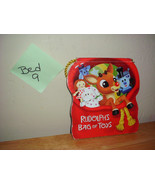 Rudolph the Red Nosed Reindeer Hard Carrying Book, Rudolph's Bag of Toys - $9.99