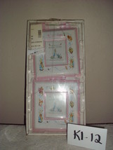 The World of Beatrix Potter Nursery Pink Photo Frames Wall Plaque - $19.00