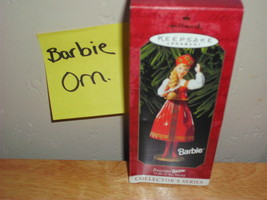 Hallmark Barbie Doll's of The World, Russian Barbie Christmas Ornament - $10.99