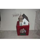 Hallmark Sarah Plain & Tall The country church Christmas Village House - $14.99