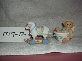 Enesco Cherished Teddies, Arriving with Love & Care Bear Figurine 1997 - $7.99