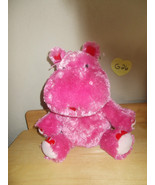 Hallmark Valentines Lola, Talking Ear wiggling Hippo Animated Motionette... - $24.99