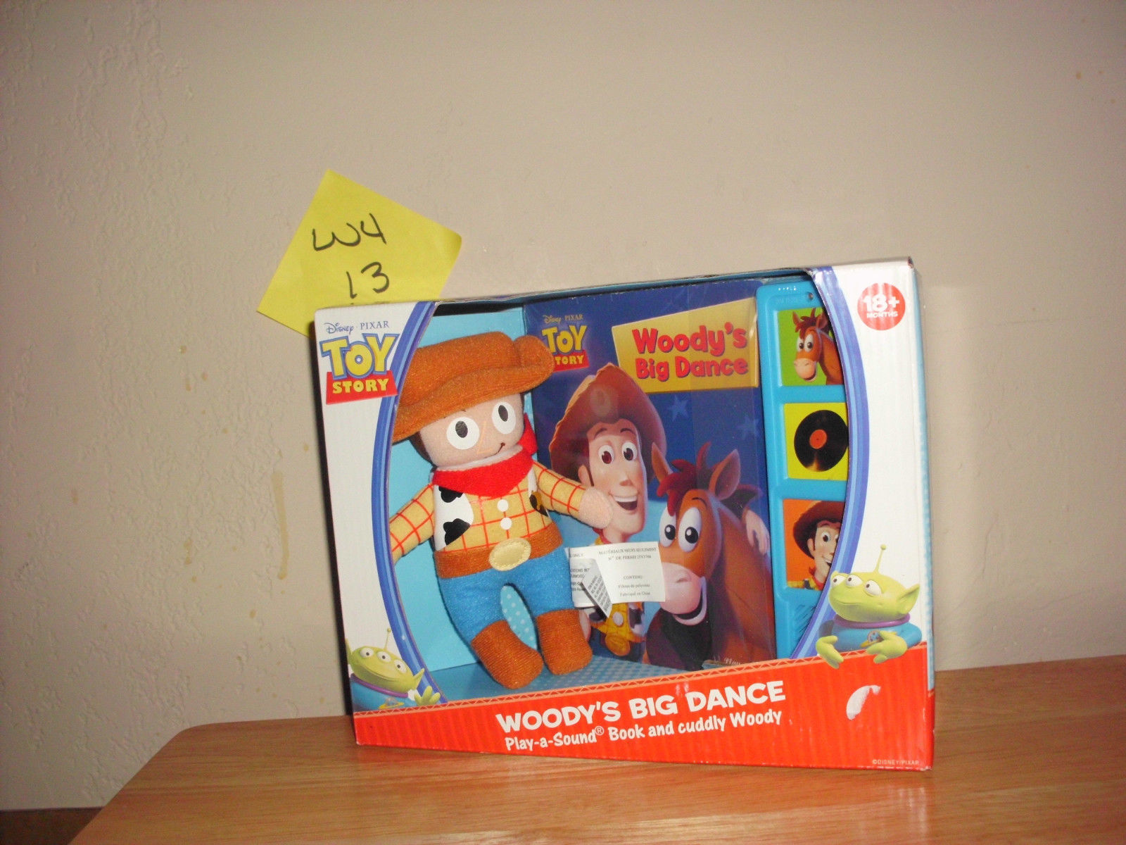 Primary image for Toy Story Woody's Big Dance Play & Sound Book and Plush Toy NIB