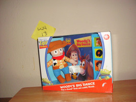 Toy Story Woody's Big Dance Play & Sound Book and Plush Toy NIB - $14.99