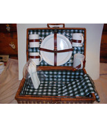 large wicker picnic basket - $29.99