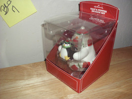 Hallmark Christmas Bear and Penguin Salt & Pepper Shakers - $14.99