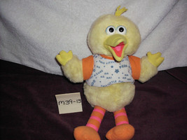 "Big bird giggling and talking plush 16 1/2"" - $14.99"