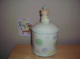 2003 Demdaco Hushabye Babies Teddy Bear Nursery Jar - $17.99