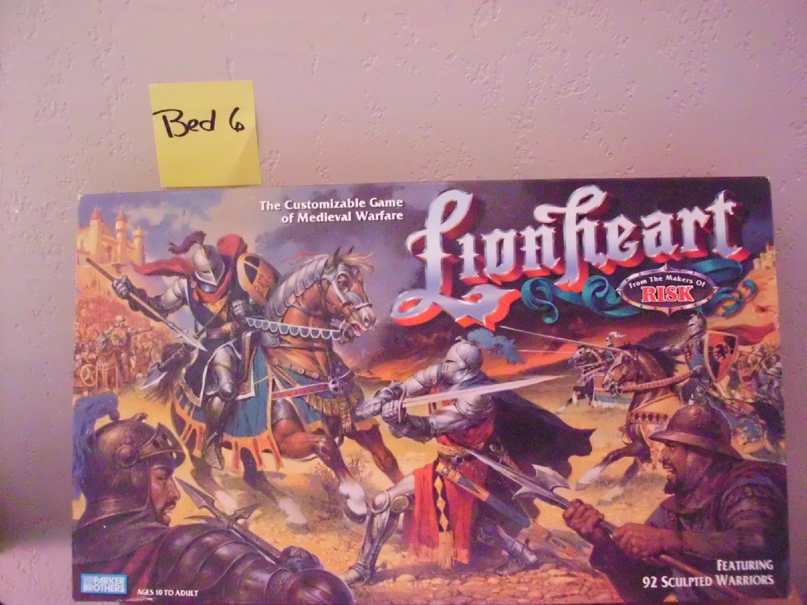 Lionheart Medieval Warfare Board Game By And 35 Similar Items