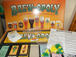 Brew-opoly  Monopoly Edition, Complete - $14.99
