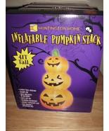 Huntington Home 4' Inflatable stacked pumpkins Halloween Decoration - $29.99