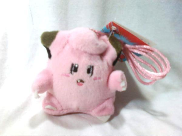 "Pokemon OOP ""Clefairy"" Plush Clip / Keychain * BRAND NEW!"