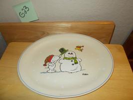 Hallmark Peanuts Snoopy & Woodstock Christmas Platter - $24.99