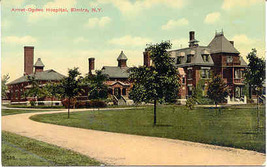 The Arnot Ogden Hospital and Campus Elmira Chemung County New York Post ... - $7.00