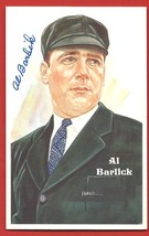 AL  BARLICK   SIGNED  AUTOGRAPH    PEREZ  STEELE   LIMITED  POSTCARD  NM... - $24.99