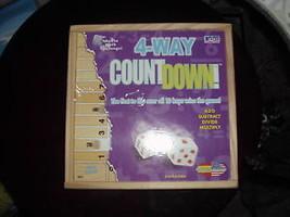Cadaco 4 Way Countdown Dice Educational Board Game - $17.99
