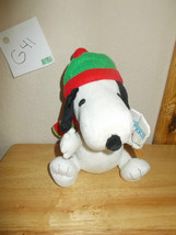 Gemmy Peanuts Snoopy Brrrr Stuffed Plush Toy - $14.99