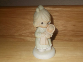 """Precious Moments """"All things grow with love""""  figurine - $12.99"""