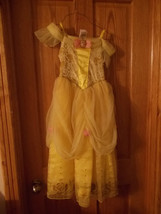 Disney Store Exclusive Beauty and the Beast Belle Dress , Size M 7/8 - $39.99