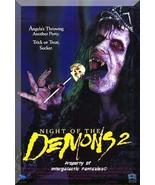 VHS - Night Of The Demons 2 (1994) *Amelia Kincaide / Christine Taylor* - $12.99