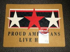 """Mohawk Patriotic Door Mat 18"""" X 24"""" - Proud Americans Live Here # LBL111... - $19.55"""