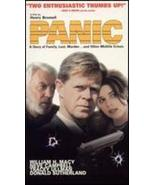 Panic...Starring: Donald Sutherland, William H. Macy, Neve Campbell (use... - $7.00