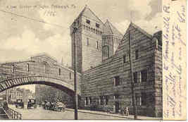 Bridge of Sighs Pittsburgh Penna Vintage 1906 Post Card - $6.00