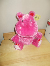 Hallmark Valentines Lola, Talking Ear wiggling Hippo Animated Motionette, NWT image 2
