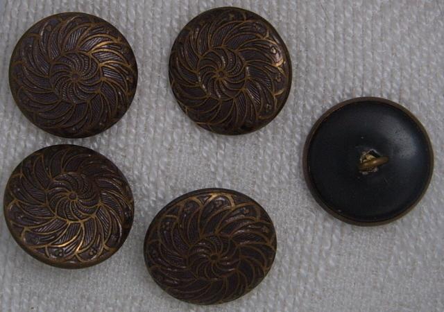 5 swirl design buttons