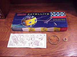 1958 Project Vanguard Satellite Model Kit No. 515-100 Box, Instructions only - $18.95