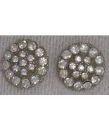 2 Rhinestone Buttons Button BJs - $7.50