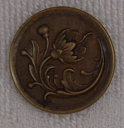 Large floral button