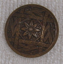 Brass floral button thumb200