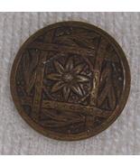 Nice brass floral button BJs - $4.00