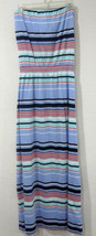 NWT Womens GAP Multi Strip Strapless Maxi Dress XS, S, M, L, XL, XXL   - $22.99
