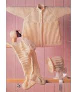WEE WONDERS BABY BEEHIVE 478 NEWBORN - 18 MO. OUTFIT LEGGINGS SWEATER CA... - $4.98