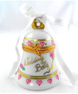 Limoges Box - Artoria Wedding Bell - Hearts & R... - $125.00