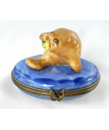 Limoges Box - Florida Manatee in Water - Fish -... - $89.00