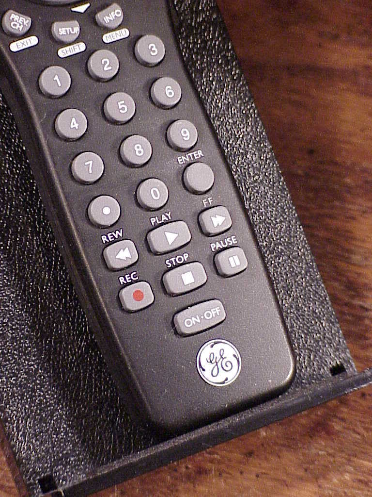 ... GE Universal Remote Control, no. JC024, RC24991-C, used, cleaned ...