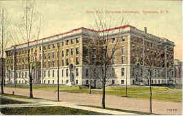 Syracuse University Vintage 1912 Post Card  - $6.00