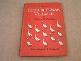 Stories of Mother Goose Village - 1903 Childrens Nursery Rhyme Fairy Tales Book - $16.82