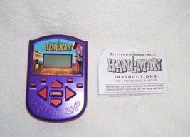 HANGMAN Electronic Handheld Game 2002 w/INSTRUCTIONS - $11.96