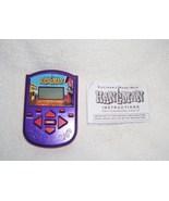 HANGMAN Electronic Handheld Game 2002 w/INSTRUCTIONS - $12.96