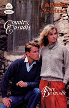 COUNTRY CASUALS PATONS 450 CLASSIC CLASSY DESIGNED KNITS FAIR ISLES CABLES - $4.98