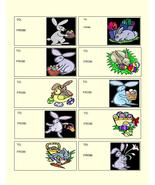 Easter To and From tag-Digital Download-ClipArt... - $3.85