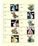 Easter To and From tag 01A-Digital Download-Cli... - $3.85