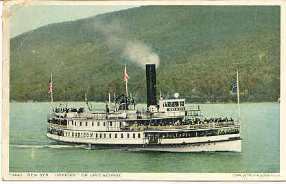 Primary image for Steamship Horicon On Lake George New York Post Card