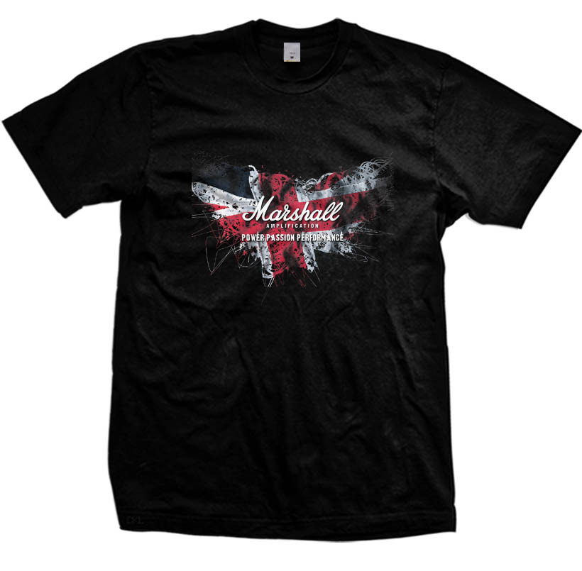 Primary image for  Marshall Amp Amplification Music T-Shirt size S-2XL